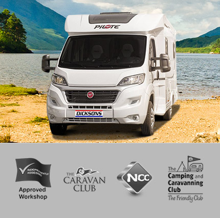 Customer service - Approved Workshop - The Caravan Club - NCC Member - The Camping and Caravanning club The friendly club.
