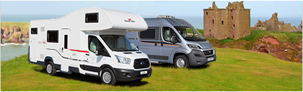Hire motorhomes available