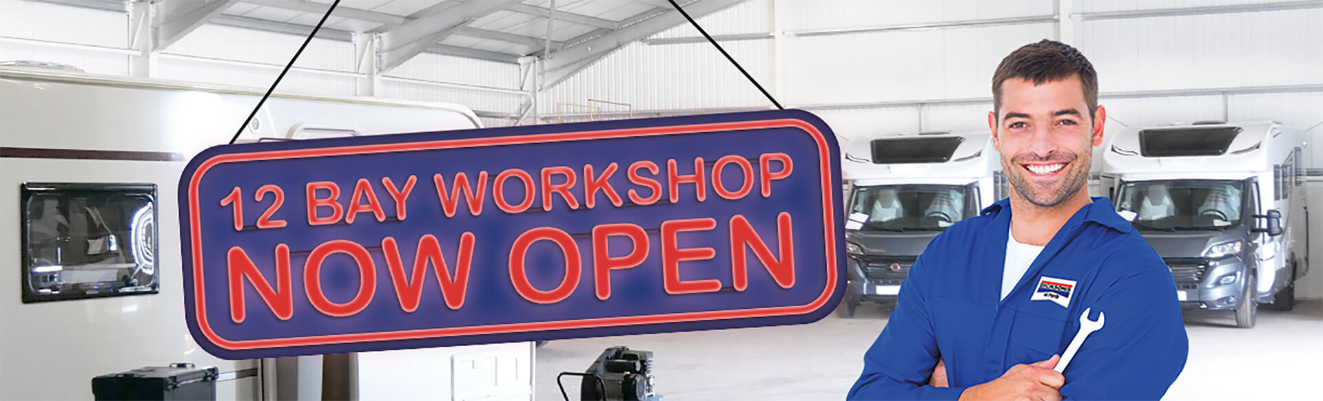 Aftersales - 12 Bay Workshop now open