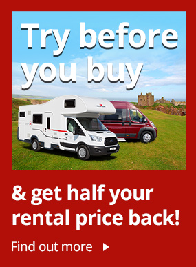 Try before you buy with our Motorhomes for Hire