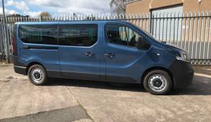 Vauxhall Vivaro 8 Seat Minibus