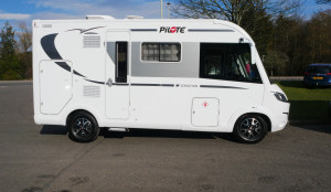 Pilote Galaxy 600L Sensation (Automatic)  4 Berth