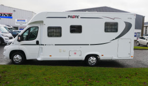 Pilote Pacific 706C Essential  4 Berth