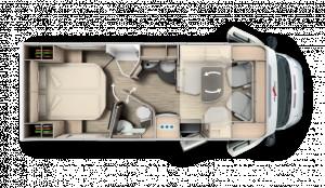 Malibu T500QB F40  2 Berth