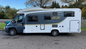 Burstner Ixeo Time 55 Edition- AUTO  4 Berth