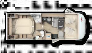 Malibu I440QB Touring F35  4 Berth