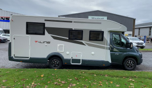 Roller Team T-Line 740 (AUTOMATIC)  4 Berth