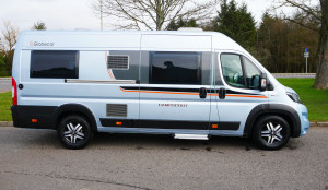 New Globecar Campscout Campervan