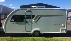 Sprite Alpine 4  4 Berth