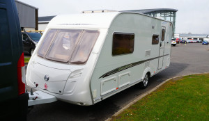 Swift Challenge 520 caravan at Dicksons of Perth Scotland