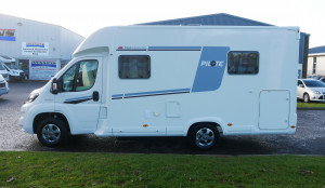 Pilote Pacific 650C (GB Edition)  3 Berth