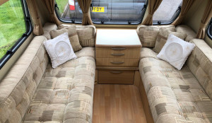 Abbey Vogue 460 (motor mover)  2 Berth