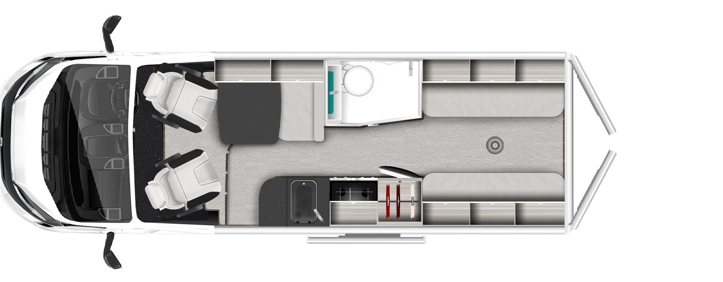 2020 Roller Team Toleno S New Motorhome layout