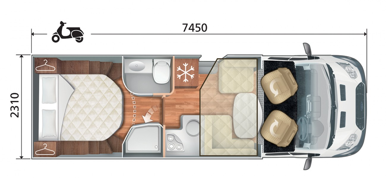 Roller Team Zefiro 696 floorplan