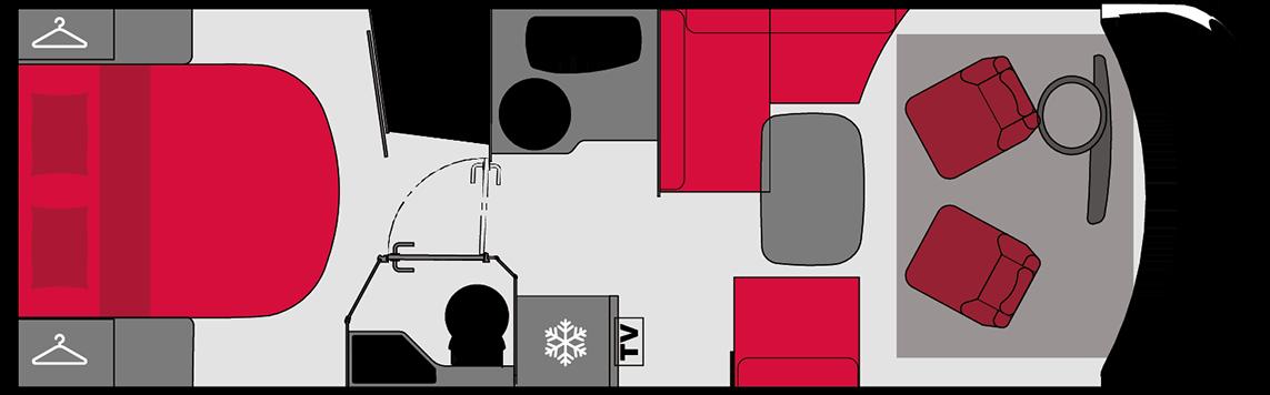 Pilote Galaxy 740C Sensation (Automatic)  4 Berth
