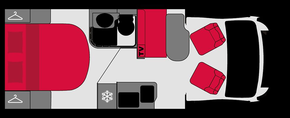 Pilote P650C GB Edition   4 Berth